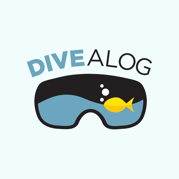 Divealog Logo