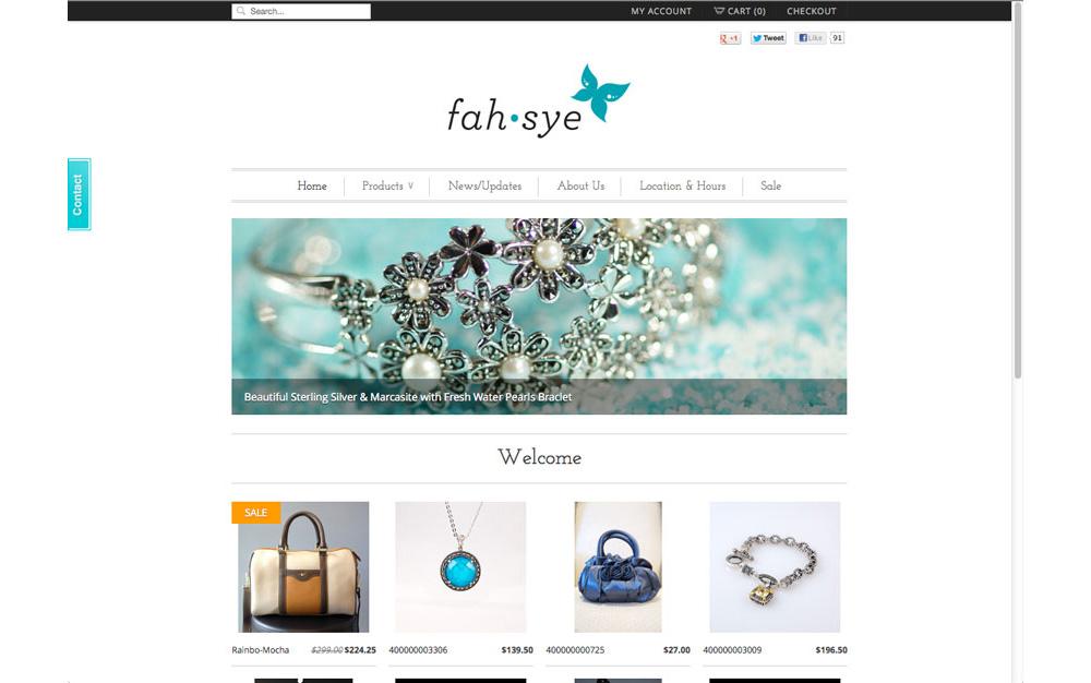 fahsye-web-homepage
